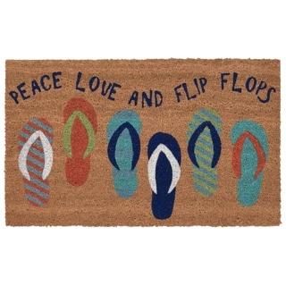 """Liora Manne Beach Sandals Rug (1'6"""" x 2'6"""")"""