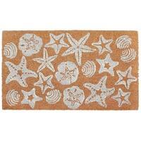 """Sea Jewels Coir Door Mat (1'6"""" x 2'6"""")"""