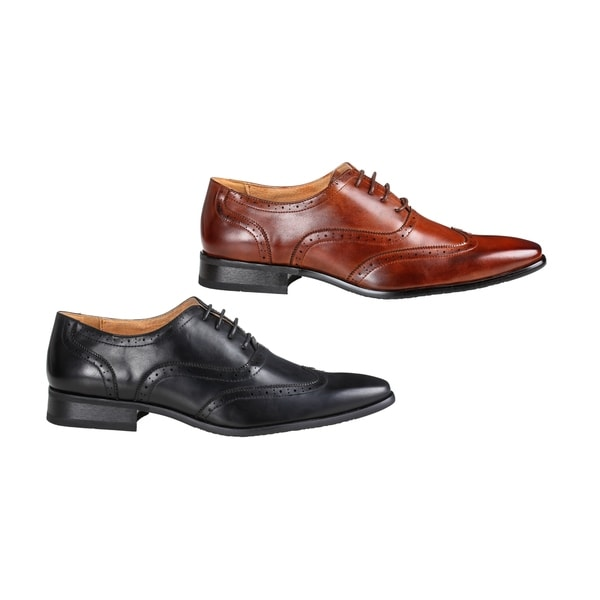 7595b30b423 Shop UV Signature Men's Oxford Dress Shoes - Ships To Canada ...