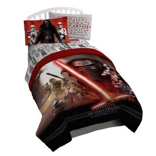 Star Wars Ep7 Force Awakens Reversible Oversized Twin Comforter