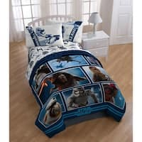 Star Wars Ep7 Live Action Blue Reversible Twin Comforter