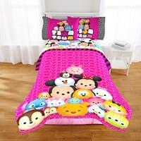 Disney Tsum Tsum Faces Reversible Oversized Twin Comforter