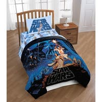 Star Wars Classic Poster Reversible Full/Queen Comforter