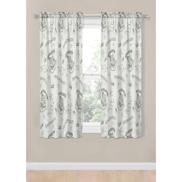 "Harry Potter Spellbound 63"" 4 PC Curtain Set. Opens flyout."