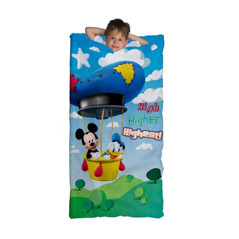 Disney Junior Mickey Mouse Clubhouse Mickey Play Slumberbag With Bonus Backpack