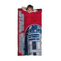 Star Wars R2D2 Slumber Bag, Bonus Backpack with Straps