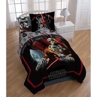 Star Wars Ep7 Photoreal Reversible Oversized Twin Comforter