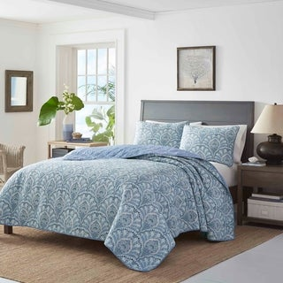 Tommy Bahama Sea Sparkle Quilt Set