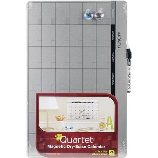 "Quartet Magnetic Dry-Erase Calendar 11""X17"""