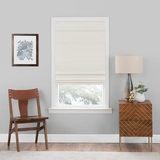 Link to Porch & Den Blanton Ivory Cordless Blackout Roman Shade (As Is Item) Similar Items in As Is