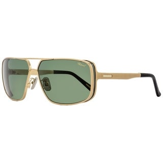Chopard SCHA80 383P Mens Gold/Black 64 mm Sunglasses
