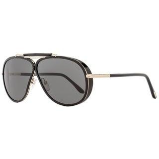 Tom Ford TF509 Cedric 01A Mens Black/Gold 65 mm Sunglasses