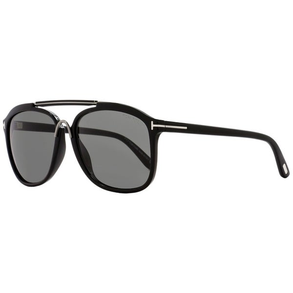 da521e4fcaa Shop Tom Ford TF300 Cade 01A Mens Black Ruthenium 58 mm Sunglasses ...
