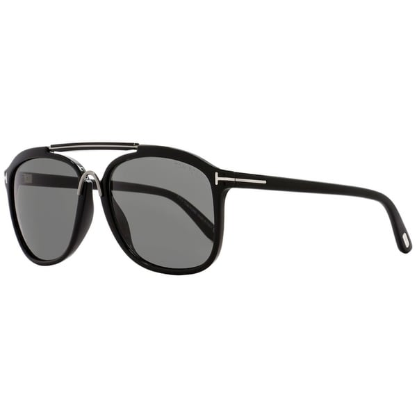 8e1c1ae66b08 Shop Tom Ford TF300 Cade 01A Mens Black Ruthenium 58 mm Sunglasses ...
