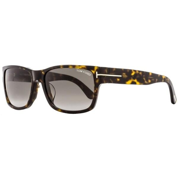 e8d3ddf3d1 Shop Tom Ford TF445F Mason 52B Mens Dark Havana 59 mm Sunglasses - Dark  Havana - Free Shipping Today - Overstock - 20967330
