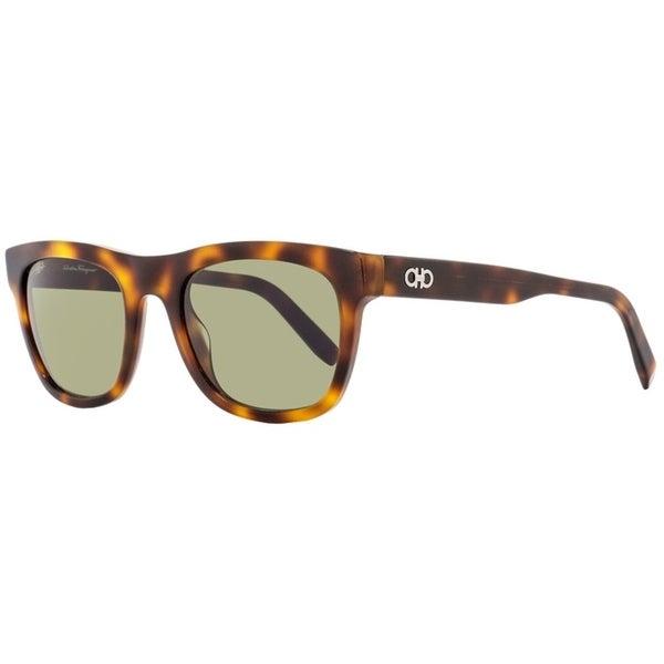 a7ef93de3e5 Shop Salvatore Ferragamo SF825SG 214 Mens Tortoise 53 mm Sunglasses - Free  Shipping Today - Overstock - 20967336