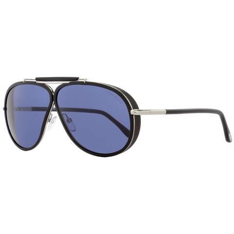 Tom Ford TF509 Cedric 02V Mens Black/Palladium 65 mm Sunglasses