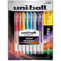 Uni-Ball Gelstick .38mm Pens 8/Pkg