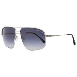 Tom Ford TF467 Justin 17W Mens Palldium/Black 60 mm Sunglasses