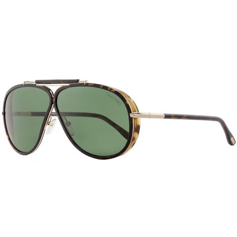 7afb0dd61975 Tom Ford TF509 Cedric 52N Mens Dark Havana Gold 65 mm Sunglasses - dark  havana