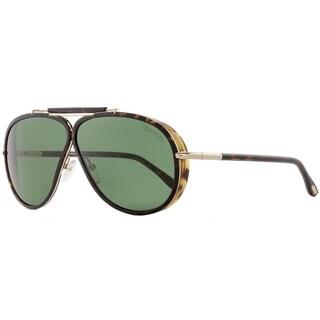 Tom Ford TF509 Cedric 52N Mens Dark Havana/Gold 65 mm Sunglasses - dark havana/gold
