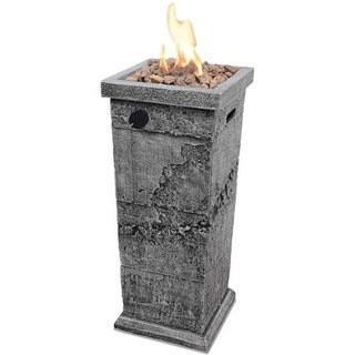LP Gas Outdoor Fire Column