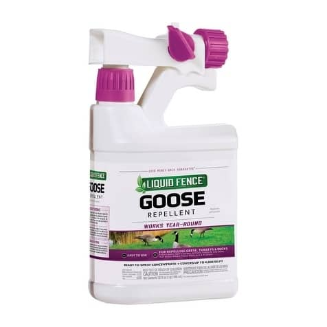 Liquid Fence For Geese Animal Repellent Spray 32 oz.