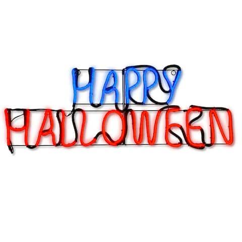 "24"" LED Light Strip Happy Halloween Decoration"