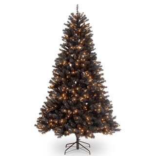 6.5 ft. North Valley® Black Spruce Tree with Clear Lights