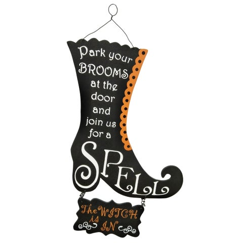 "18"" Halloween Wall Sign"