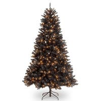 7 ft. North Valley® Black Spruce Tree with Clear Lights
