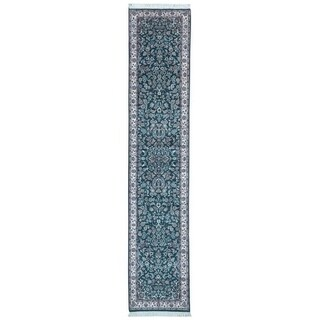 FineRugCollection Hand Made Very Fine Pakistan Tabriz Oriental Runner (2'6X12'10)