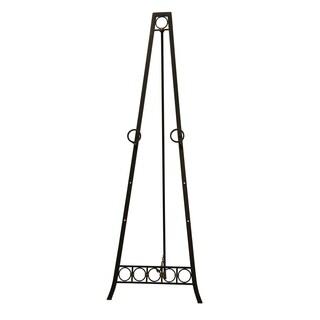 Dark Bronze Metal Adjustable Floor Easel
