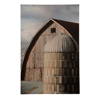 StyleCraft Shipley Silo Farmhouse Printed Wall Art - Multi