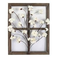 Cotton Window I Wall Decor