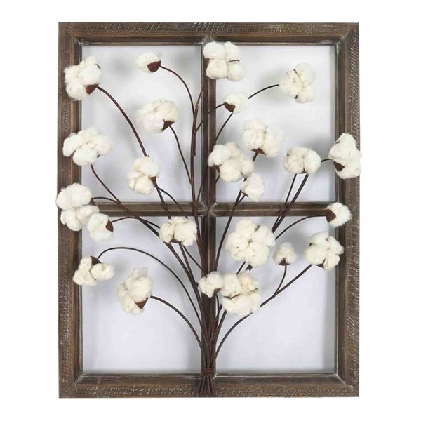 Shop Cotton Window I Wall Decor - Free Shipping Today - Overstock ...