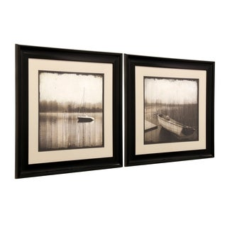 StyleCraft Boat Framed Prints Wall Art (Set of 2)