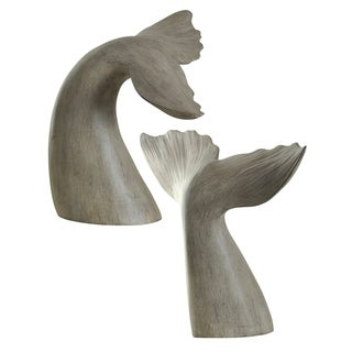 Gray Whale Tail Melville Book Ends (Set of 2)