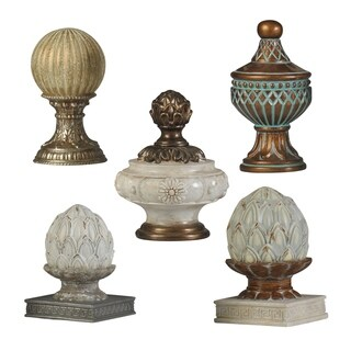 Valencia Finial Group (Set of 5)