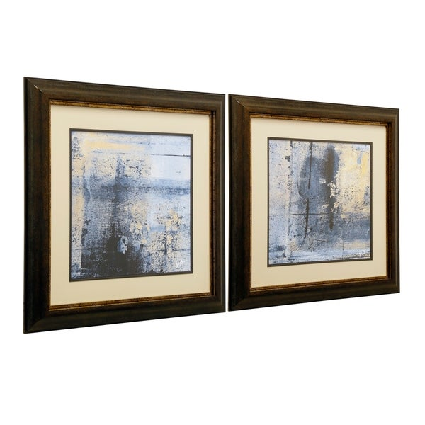 Shop Glass Framed Prints I Set Of 2 Free Shipping