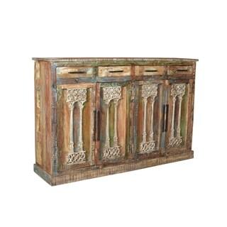 Aurelle Home Reclaimed Rustic Wood Sideboard
