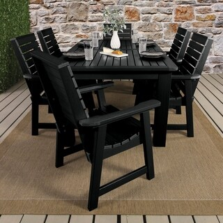 "Weatherly 7pc Rectangular Outdoor Dining Set 72"" x 42"""