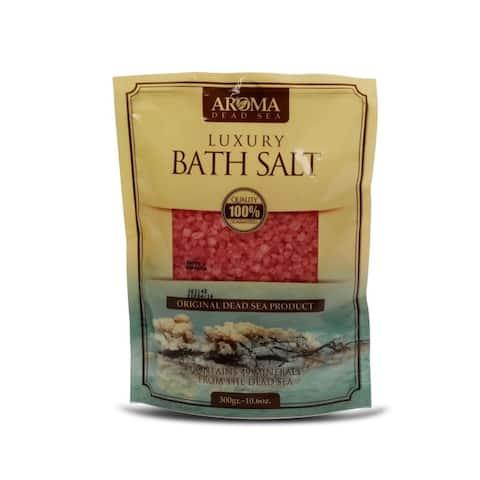 Aroma Dead Sea Luxury Bath Salt 300gr Rose Scented
