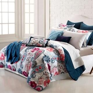 Amrapur Overseas Paisley Garden 16-Piece Printed Reversible Comforter Set (2 options available)