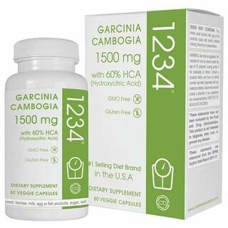 Creative Bioscience Garcinia Cambogia 1234 (60 Veggie Capsules)
