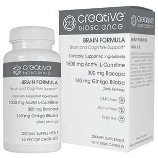 Creative Bioscience Brain Formula (60 Veggie Capsules)