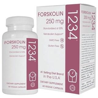 Creative Bioscience Forskolin 1234 (60 Veggie Capsules)