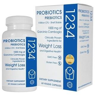 Creative Bioscience Probiotics 1234 (60 Veggie Capsules)