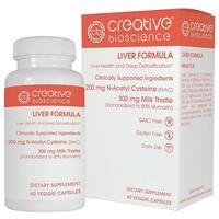 Creative Bioscience Liver Formula (60 Veggie Capsules)