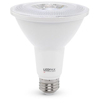 LEDPAX PAR30 Dimmable LED Bulb, 10W (75W equivalent), 4000K, 800 Lumens,CRI 90, UL, ES Certified (4 Pack)